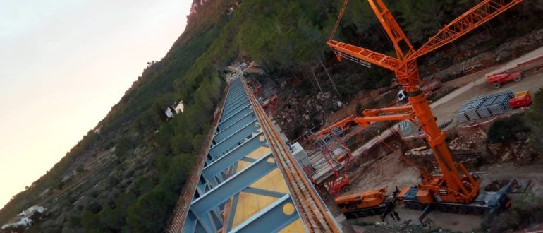 Estructura puente Ferrandet